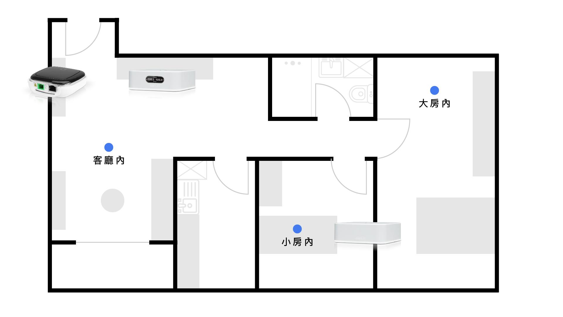 Ubiquiti AmpliFi Instant 評測:簡單設定Mesh WiFi 迷你設計 21