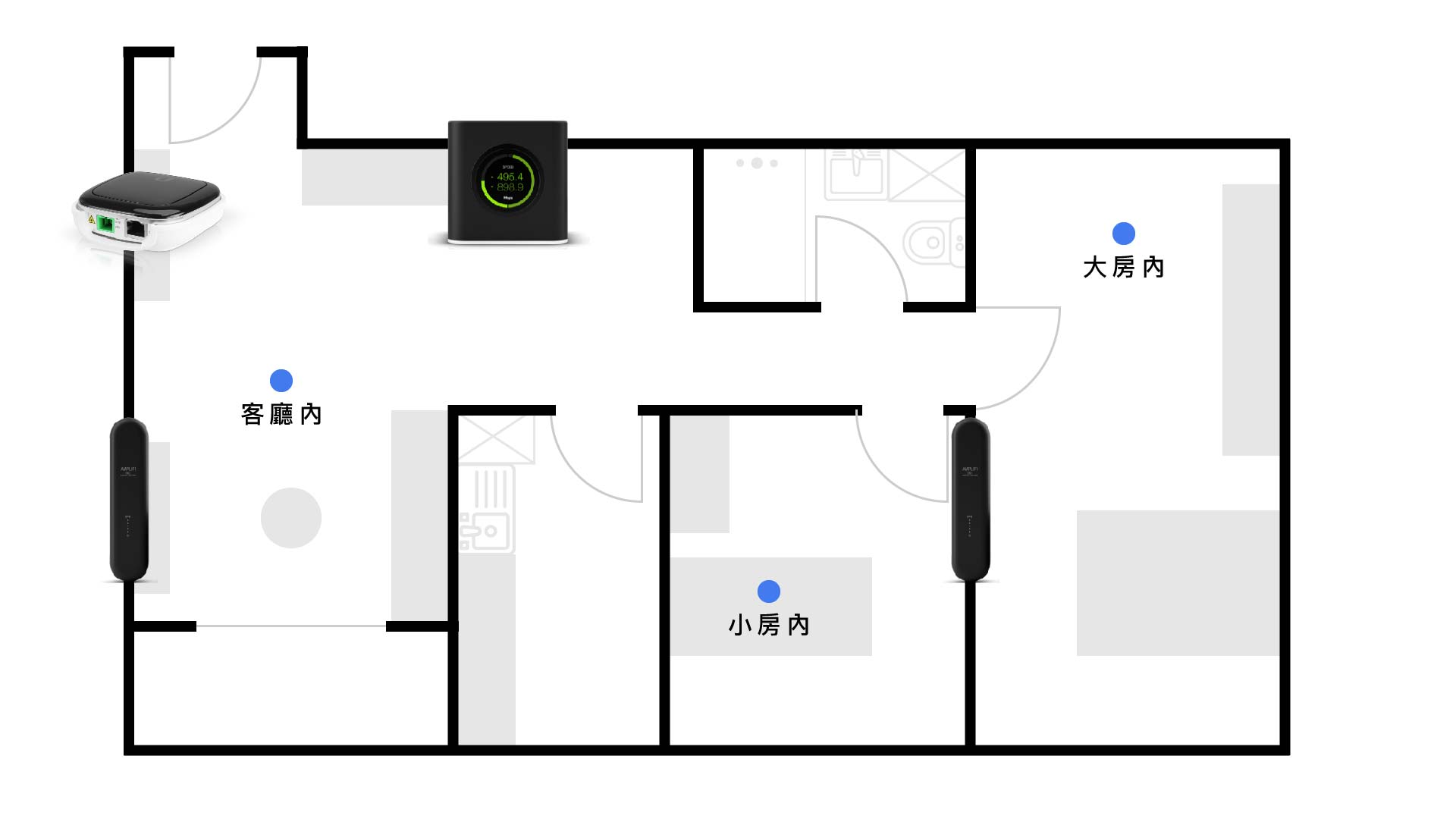 Ubiquiti AmpliFi Gamer's Edition 評測:Mesh WiFi 低延遲網路優化 35
