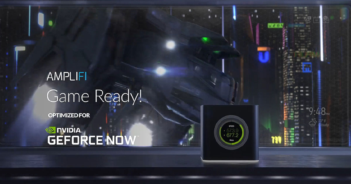 Ubiquiti AmpliFi Gamer's Edition 評測:Mesh WiFi 低延遲網路優化