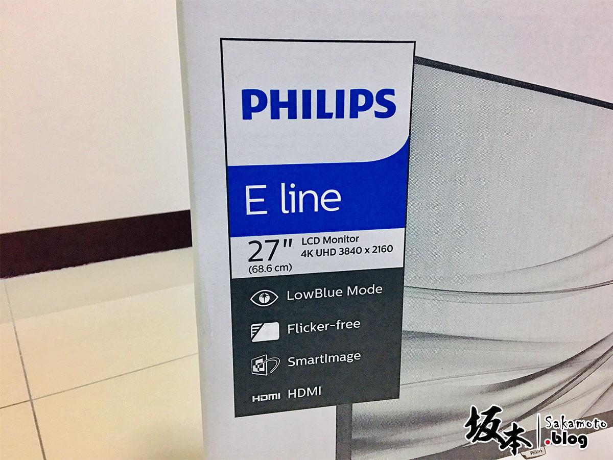 PHILIPS 27 吋4K Ultra HD 液晶螢幕 ( 276E8VJSB ) 開箱評測 4