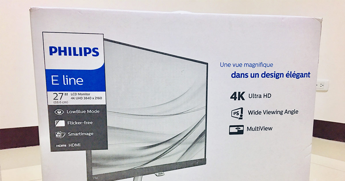 PHILIPS 27 吋4K Ultra HD 液晶螢幕 ( 276E8VJSB ) 開箱評測 16