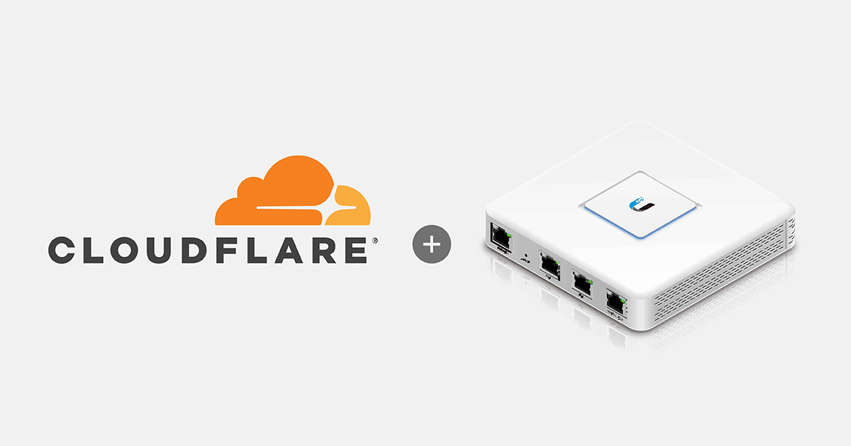 UniFi USG 使用 CloudFlare Dynamic DNS 方法