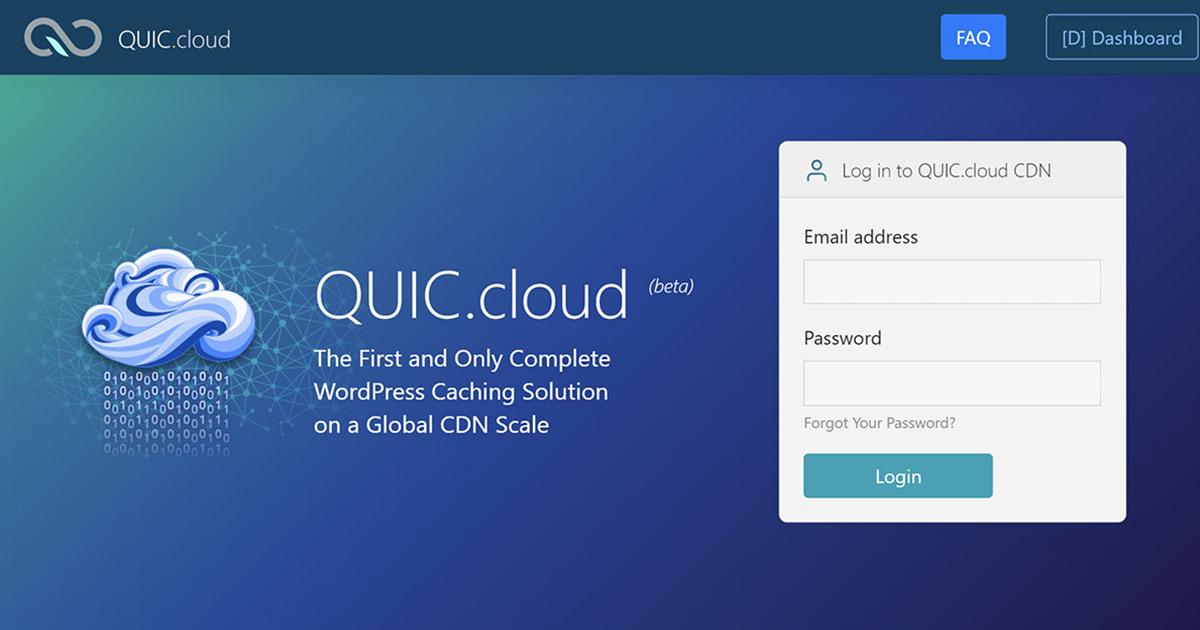 LiteSpeed 推出 CDN 新產品 QUIC.Cloud 提升速度