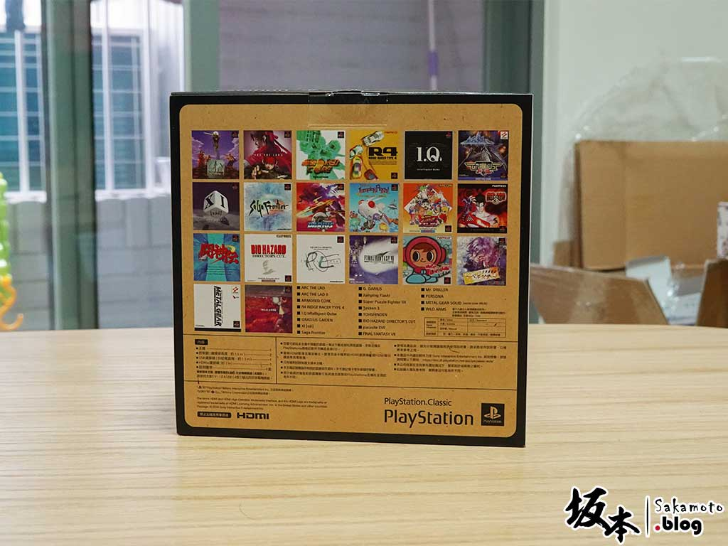 迷你PS「PlayStation Classic」開箱心得 4