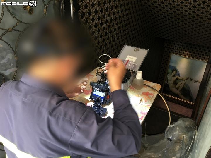 供裝中華電信 FTTH 300M/100M 光纖到府全程紀錄 6