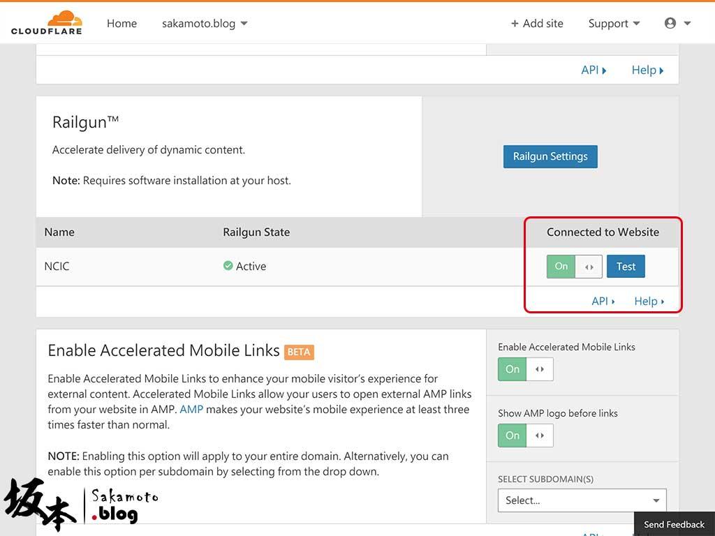 如何開啟 CloudFlare Railgun 加速動態內容優化 5