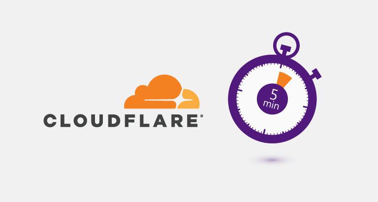 清除 CloudFlarePurge DNS Cache 記錄,加速更新解析記錄