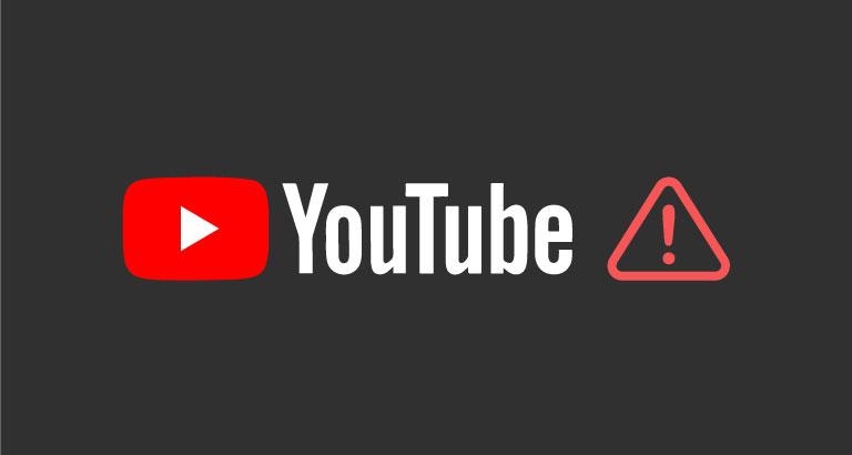 [更新]今早九點,YouTube發生全球性當機