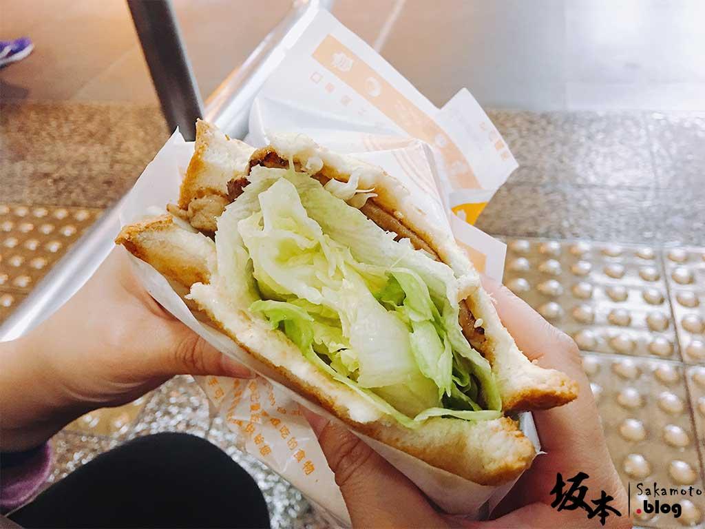 「小旺號」鐵板捲餅土司 6