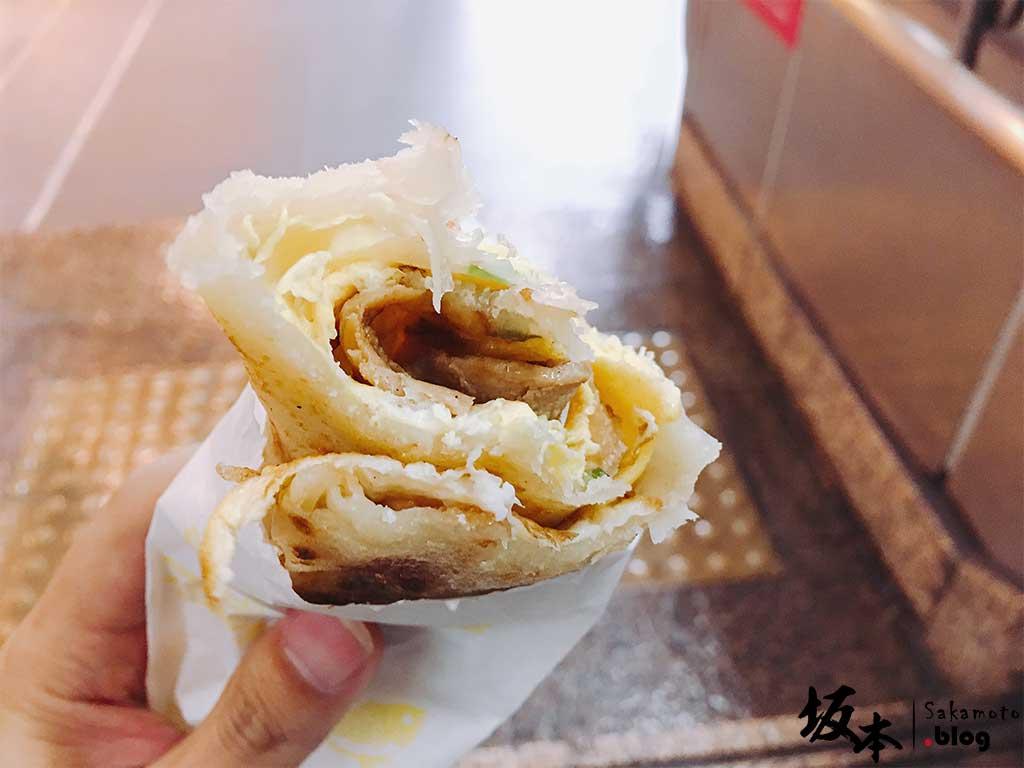 「小旺號」鐵板捲餅土司 7